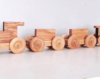 Oak Train Toy