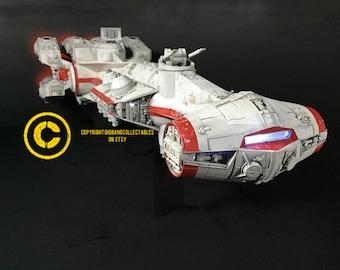 """CR90 Corvette """"Blockade Runner"""" stl files for 3d printing"""