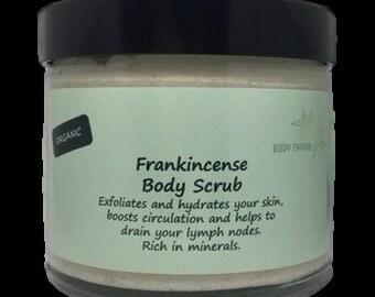 Organic Frankincense Body Scrub