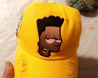 Bart Simpson Dad Hat  e829ce0ae1d