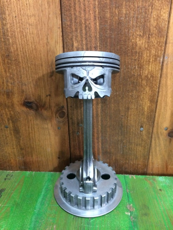 Car Show Trophy Rod And Piston Skull Etsy - Piston car show trophies