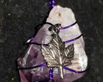Amethyst Pendent On Sale Now save 5 dollars