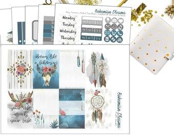 Bohemian Dreams Kit | Planner Stickers