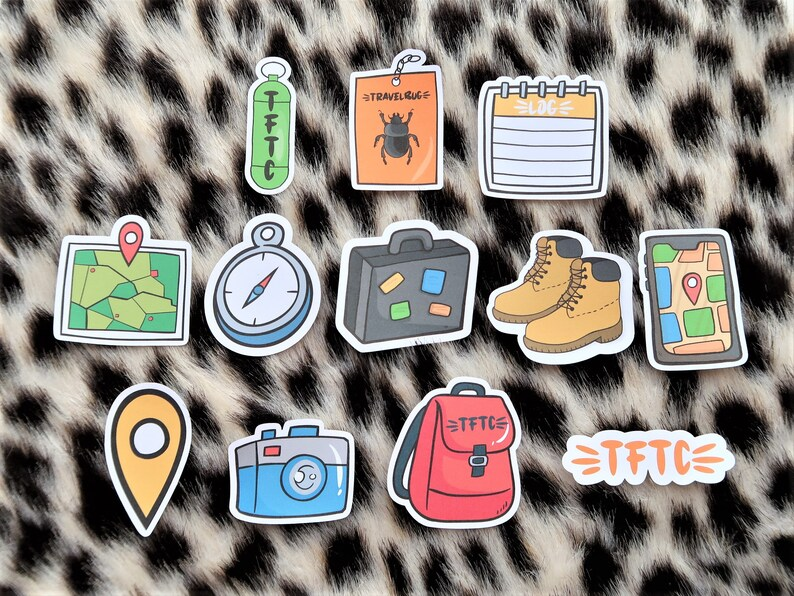 Geocache stickers
