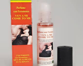 Come to me, perfume of pheromones in oil Roll on 1 / 3oz