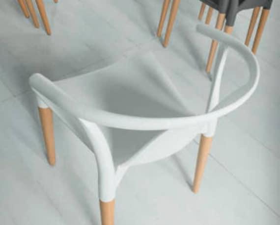 Lounge Sessel Esszimmer Stuhl Modern Wohnzimmer Holzstuhl Etsy
