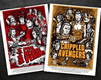 "Shaw Brothers Venom Mob Fan 2 Poster Combo  (18"" x 24"")"