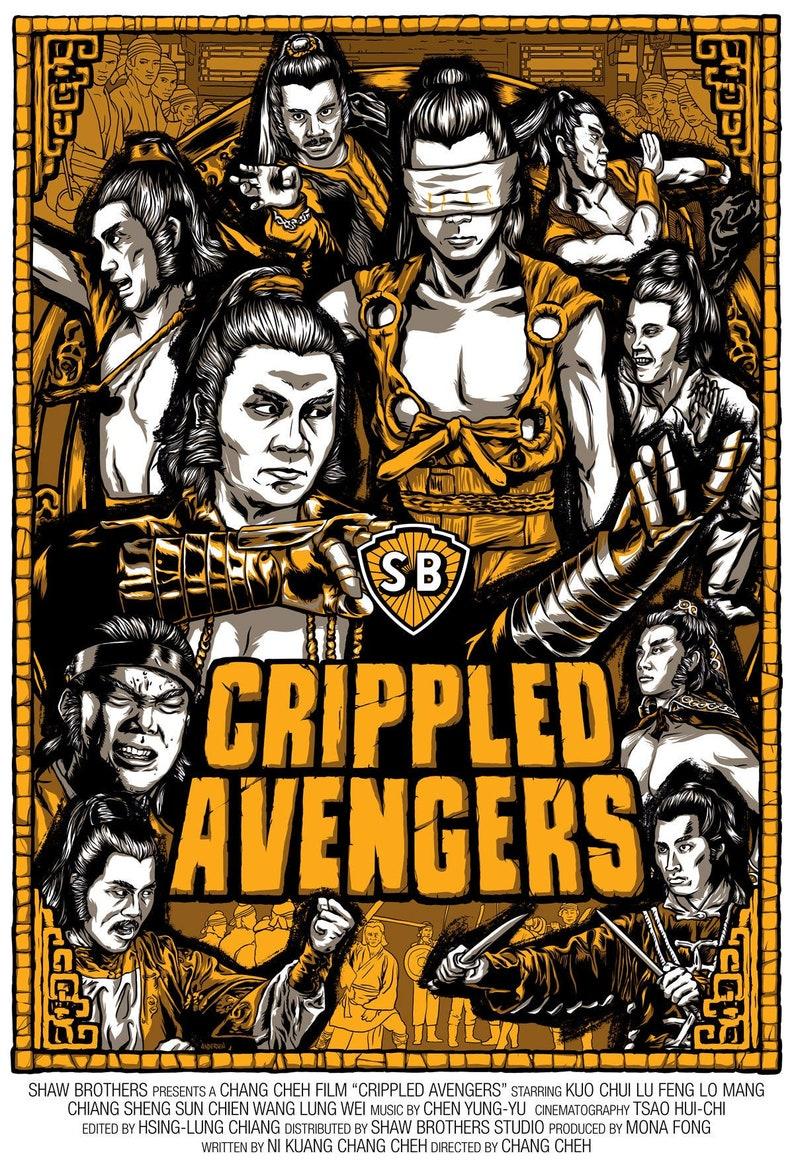 Crippled Avengers Fan Poster 18 x 24 image 0