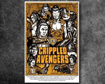 """Crippled Avengers Fan Poster (18"""" x 24"""")"""