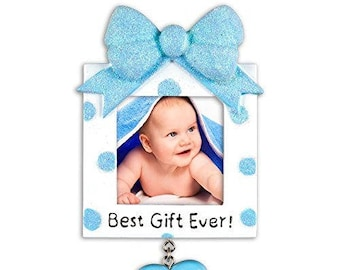 Personalized Christmas Ornaments Picture Frame
