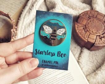 The Starless Bee Enamel Pin. The Starless Sea. Book Pin. Book Enamel Pin.