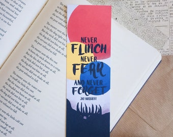 Never Forget Bookmark