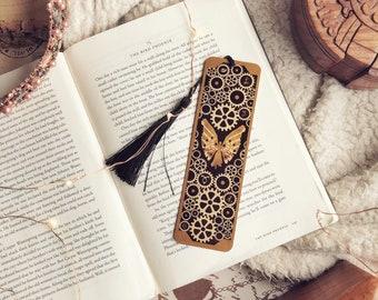 Infernal Angel Metalmark. Clockwork Angel. Steampunk. Golden metalmark. Golden bookmark. Gold bookmark. Gifts for her.