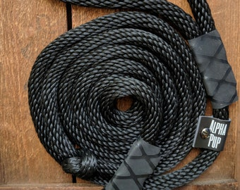 8ft Runner | Running Leash, Rope Leash, Dog Leash, Leashes, Dog Accessories, Rope Dog Leash, Rope, Soft Leash, Durable Leash, Custom Leash