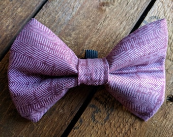 Conductor Bow Tie   Pet Bow Tie, Dog Bow Tie, Cat Bow Tie, Dog Collar Accessories, Elastic Bow Tie, Slip On Dog Bow Tie, Dapper Dog