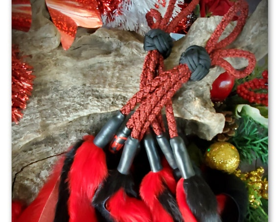 RTS- Bunny Finger Flogger - Red
