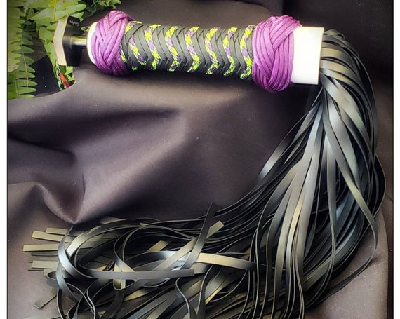 Rubber Zombie flogger