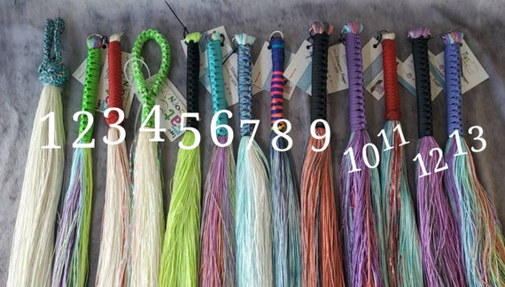 Ready to Ship - DYED SINsation flogger