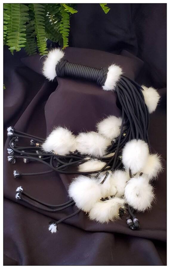 Custom - Bunny tail flogger
