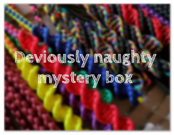 Deviously naughty mystery box