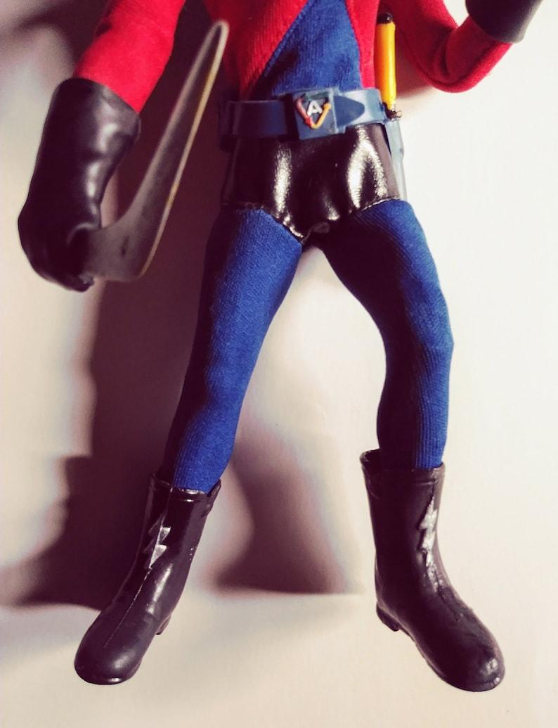 Action Boy replica BOOTS Ideal Capt Action 1967 1966 Batman