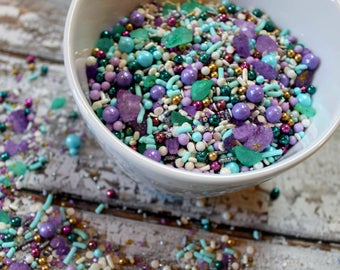 Arendelle edible sprinkles- 4oz
