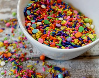 Celebration edible sprinkles- 4oz