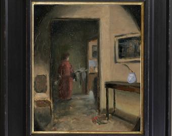 interior study painting