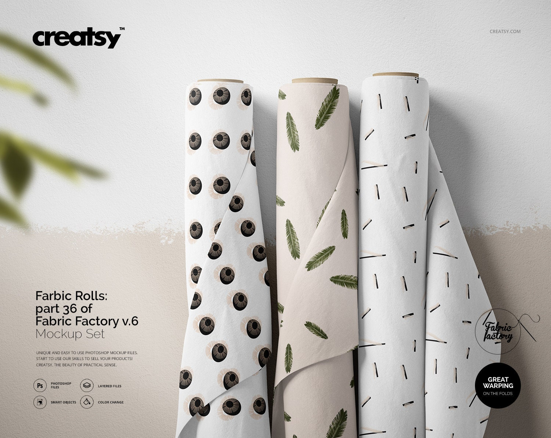Fabric Bolts Mockup part 42 of Fabric Factory v.6