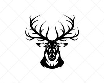 Elk Svg File Etsy