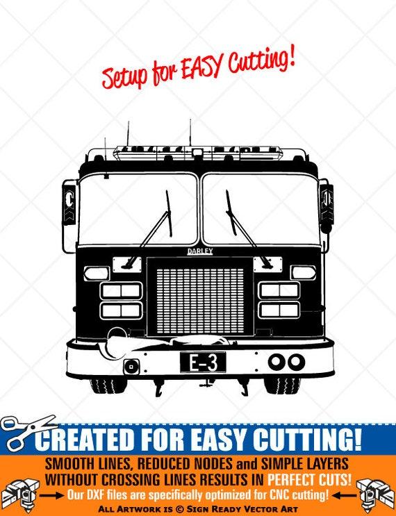 png dxf ai Fireman with Fire Hose Clipart-Vector Clip Art Graphics-Cut Ready Files-CNC-Fire Firefighter Vinyl Sign Design-Logo-eps svg