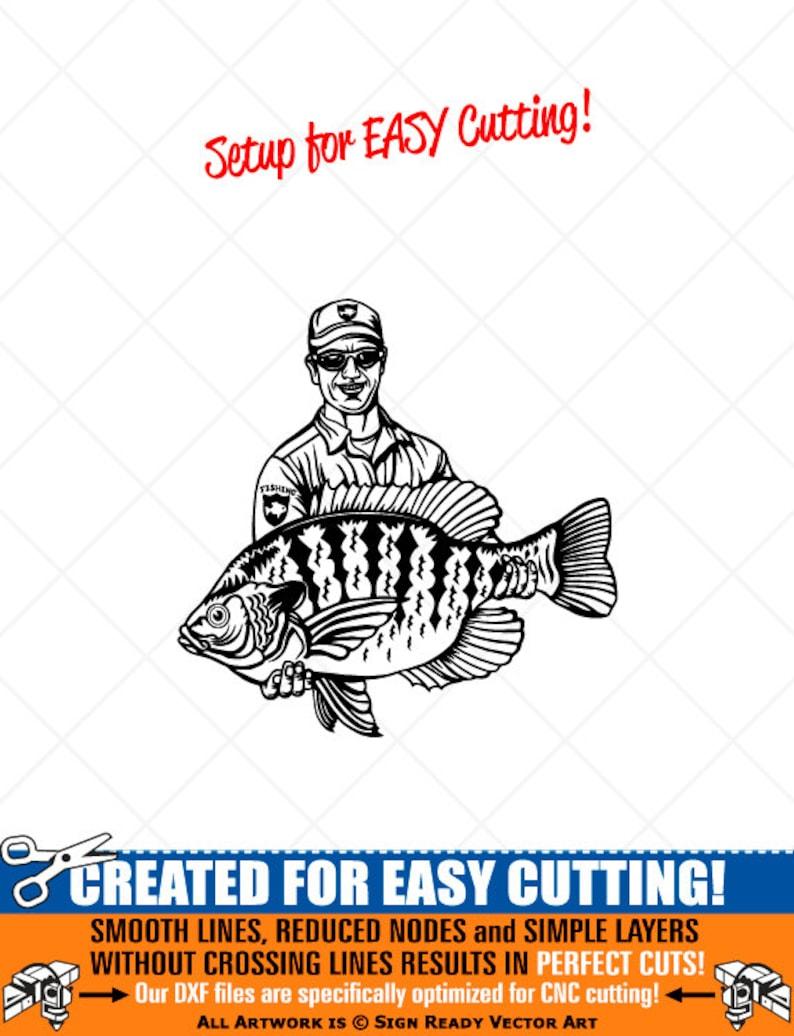 Download Png Pdf Svg Ai Dxf Crappie Fish Fishing Clipart Vector Clip Art Graphics Digital Download Cut Ready Files Cnc Logo Vinyl Sign Design Eps Clip Art Art Collectibles Tripod Ee