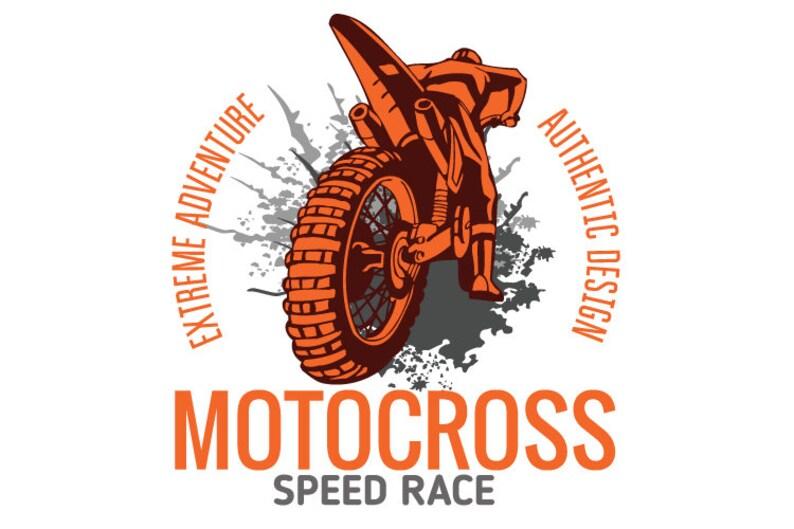 01cbf291 MOTOCROSS MOTORCYCLE DIRT Bike Clipart Vector Clip Art | Etsy