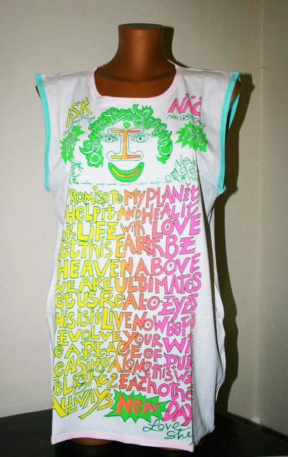 Rare vintage 80s TSHIRT /Short sleeve t-shirt/Dres