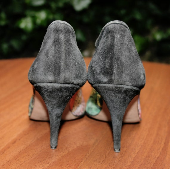 SUEDE shoes /FIFTY-6 SHOES/ women's shoes / Suede… - image 4