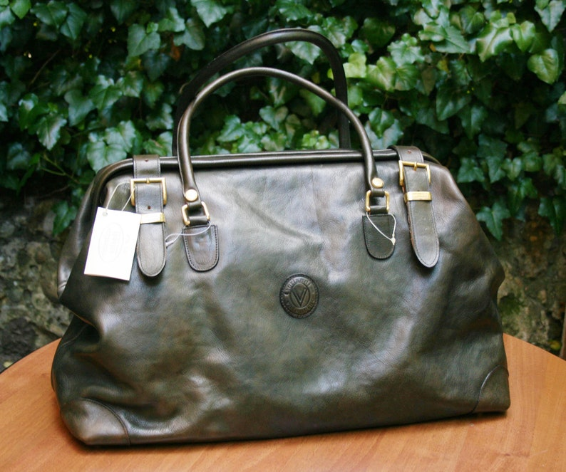 3a8328227f ORLANDI VALENTINO BAG/Travel Bag/ Handmade in Italy/ Business | Etsy