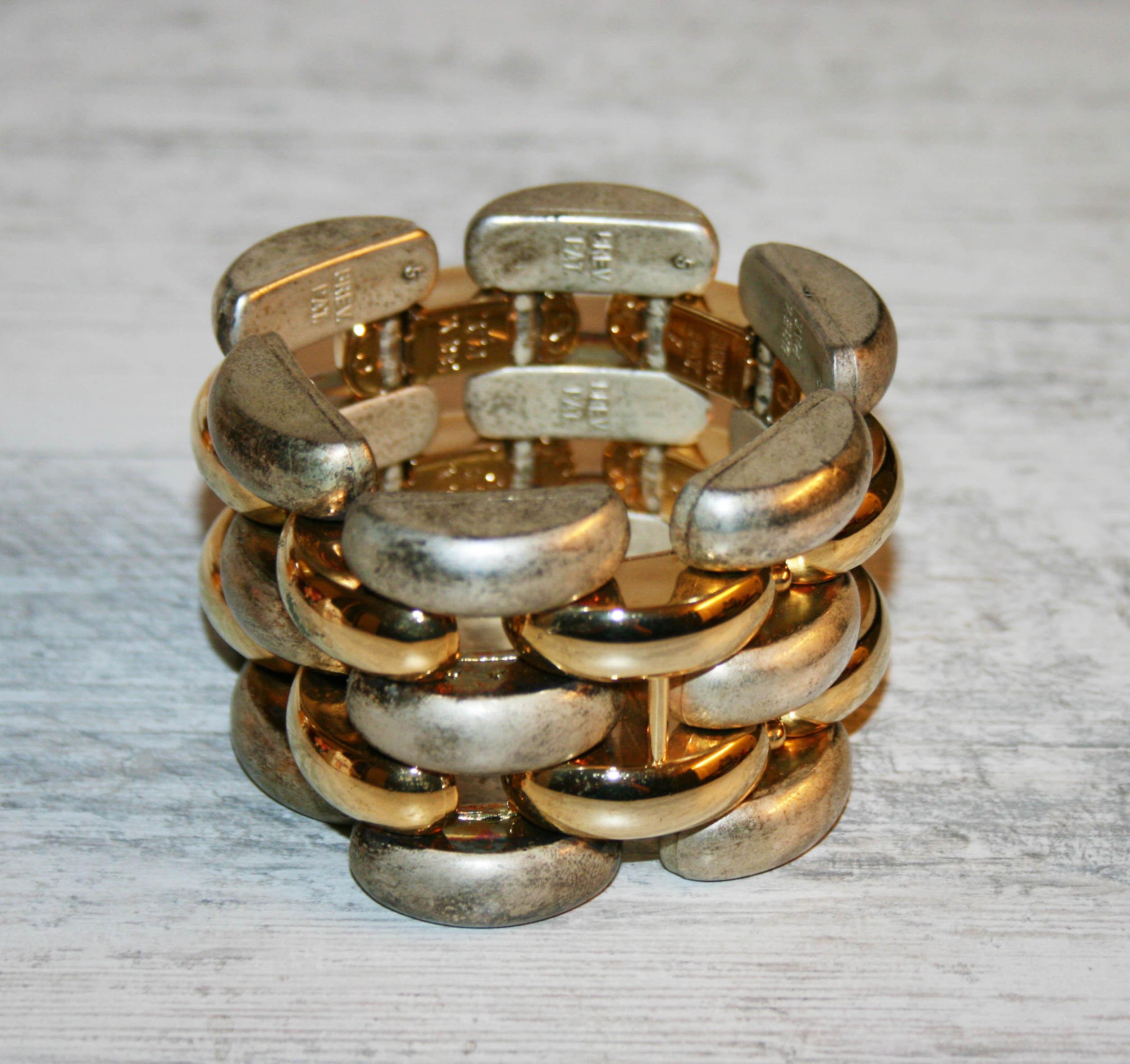 Bracelet Vintage Fantaisie 80 En Accessoire Plastique Des Mode Années Ton De Clair Brillant Bijoux Lucite hBCsQxodtr
