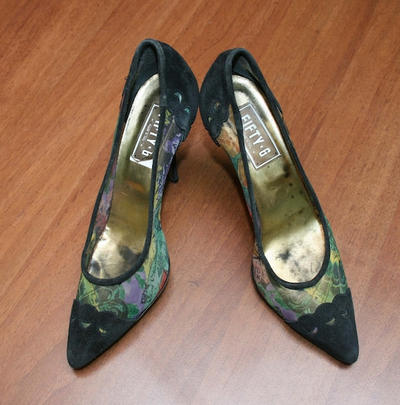 SUEDE shoes /FIFTY-6 SHOES/ women's shoes / Suede… - image 3