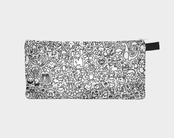 Pokemon Pencil Case (Black and White)