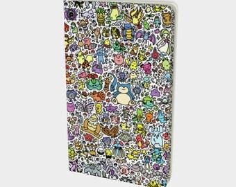 Cute Pokemon Notebook (Pikachu Ditto Snorlax Charizard Sobble Grookey Scorbunny)