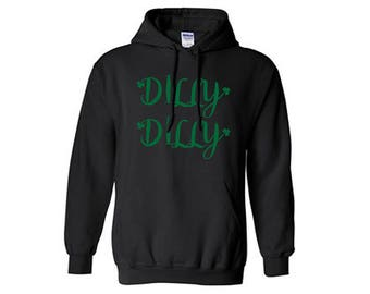 St. Patricks Day Dilly Dilly Drinking Hoodie