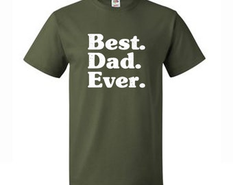 Best Dad Ever Fathers Day Vintage T-Shirt