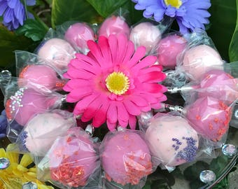 Celebrate Breast Cancer Awareness Pink Cake Pops