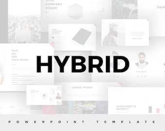 Hybrid Powerpoint Template