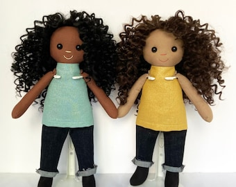 Black Dolls (Brown or Tan skin)