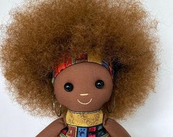 Black Doll - Big Afro
