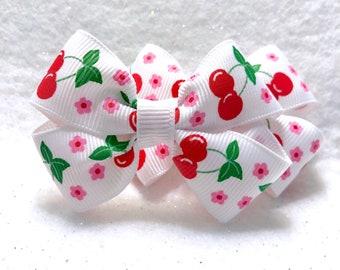 Girly Cherry Love Bow Set