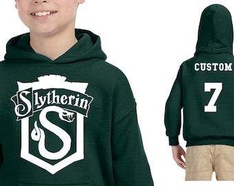 SLYTH CREST Hoodie - CUSTOMIZED Slyth Kids Hoodie - Children's Hp Clothes