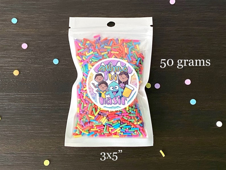 NEW Halloween Tonic Fimo Slices Fake Sprinkles DIY Polymer Clay Fake Candy Sugar Sprinkle Decorations Fake Cake Dessert Simulation Food