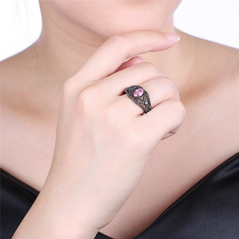 Amethyst Ring Size 6